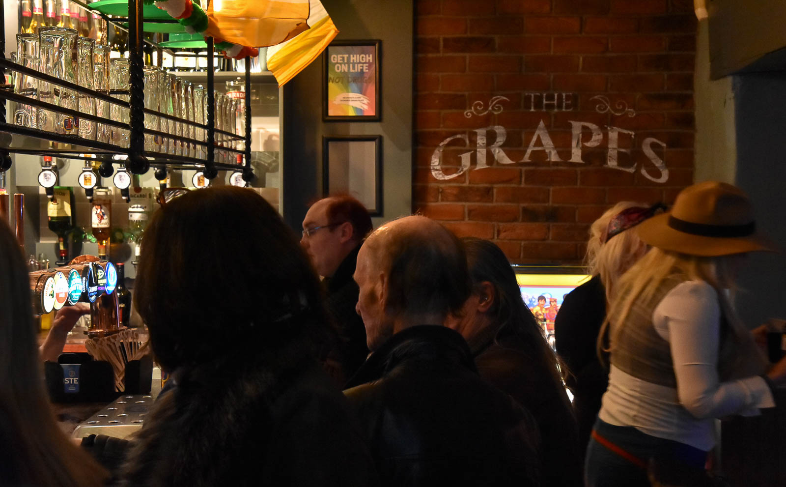 The Grapes Liverpool